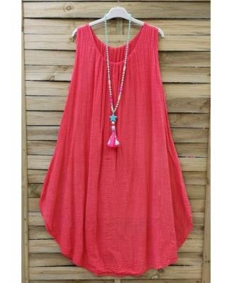 Robe Ample Corail